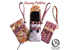Keeping your phone safe and damage free is very important these days. Here's a really great pdf pattern for a trendy looking Phone Pouch, with earbud pocket and inlet for a headphone jack.