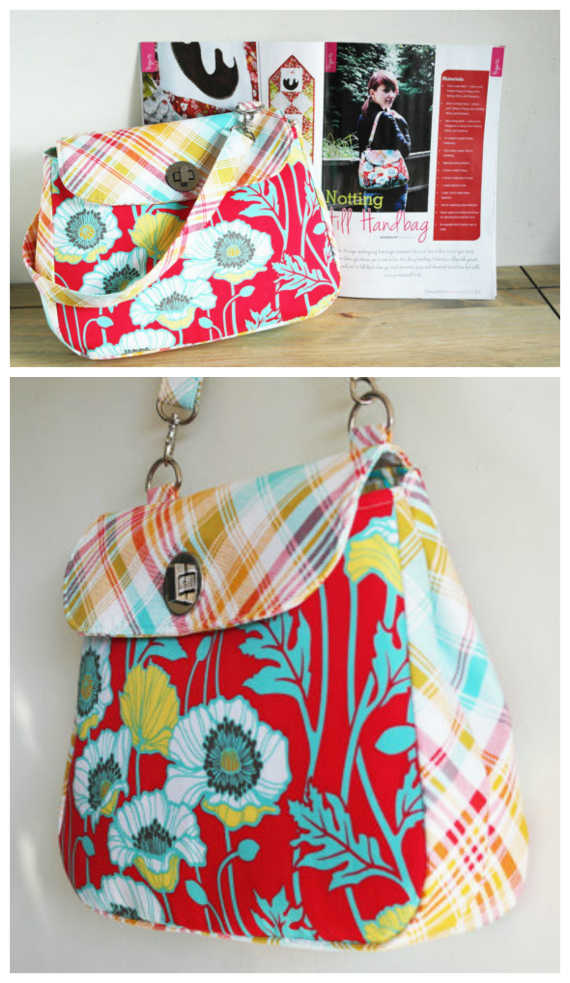 Notting Hill Bag sewing pattern