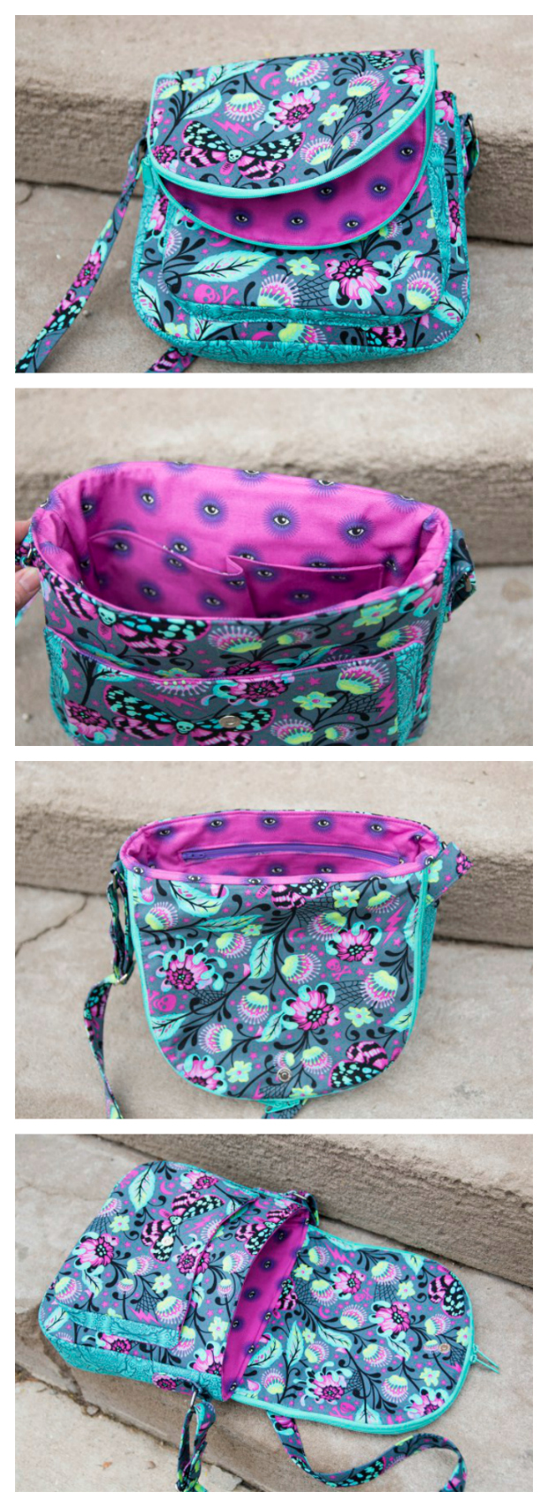 Satellite Bag - The perfect cross-body bag sewing pattern