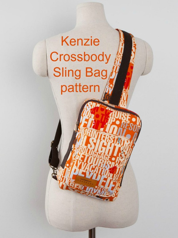 Kenzie Crossbody Sling Bag pattern, picture two.