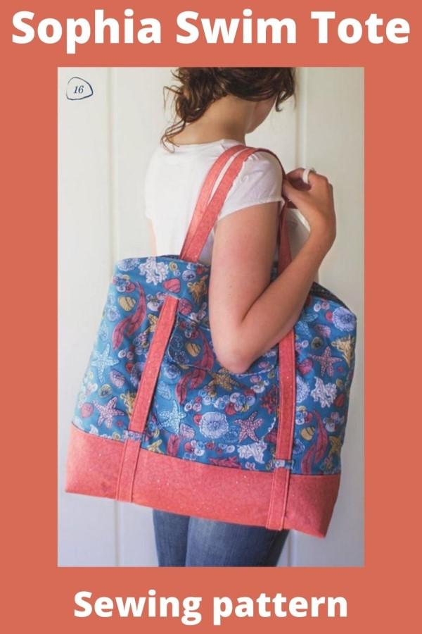 Sophia Swim Tote Bag pattern
