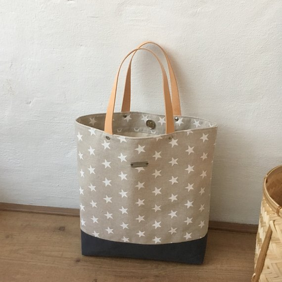 Sylvie Tote Bag sewing pattern