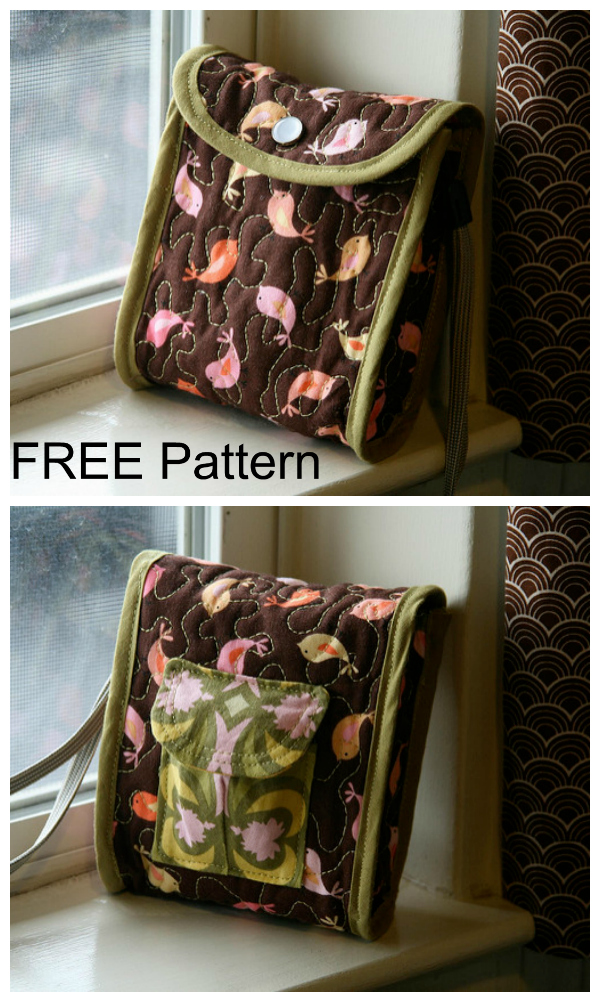 Cozy Camera Case FREE sewing pattern & tutorial