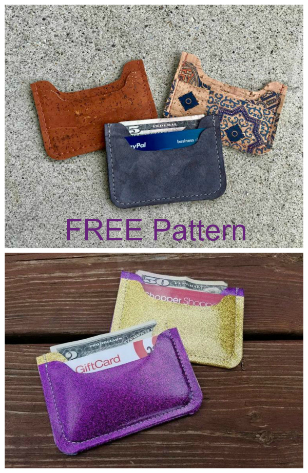 Nickel wallet FREE sewing pattern