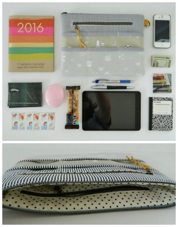 Purse Organizer sewing pattern