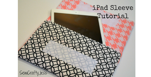Tablet sleeve - FREE sewing pattern