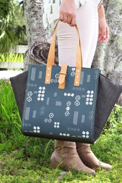 Scandi Handbag - FREE sewing pattern