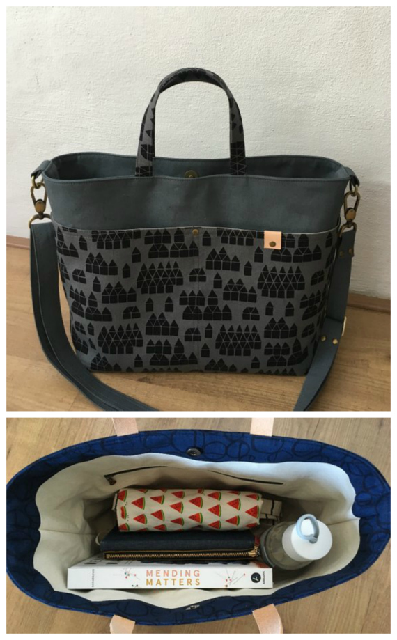 Melinda Handbag sewing pattern.