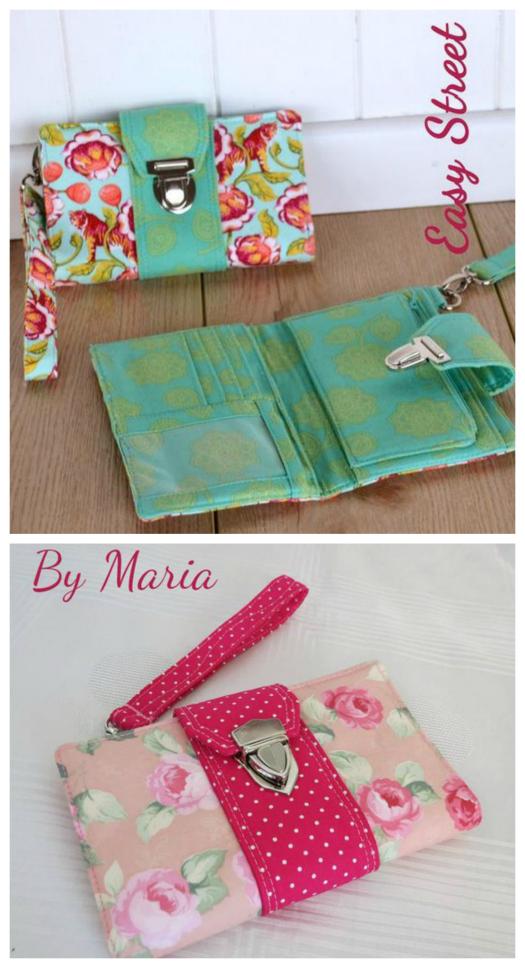 Brandt's Boulevard Wallet sewing pattern