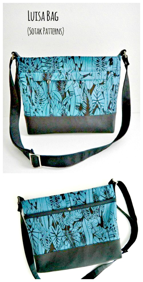 Luisa Crossbody Bag sewing pattern