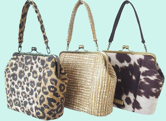 Hampton Handbag frame purse pattern