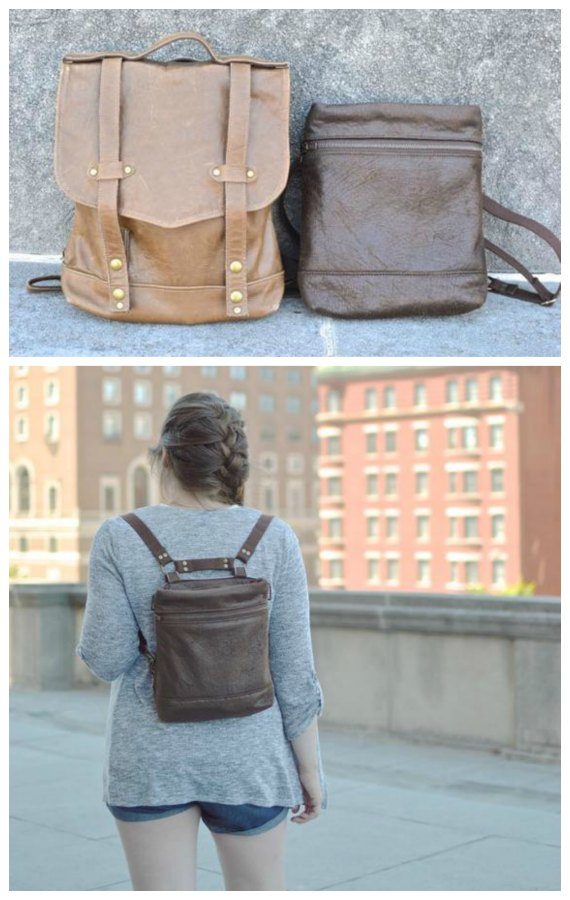 Convertible Backpack sewing pattern