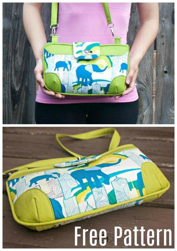 Brookfield Bag - FREE Pattern - Sew Modern Bags