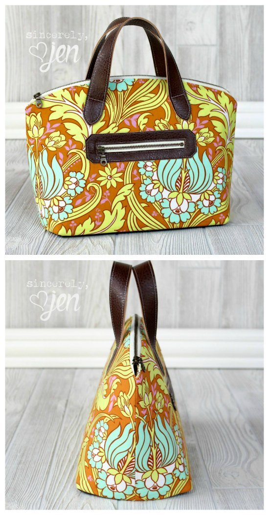 Lola Domed Handbag with great step by step sewing video