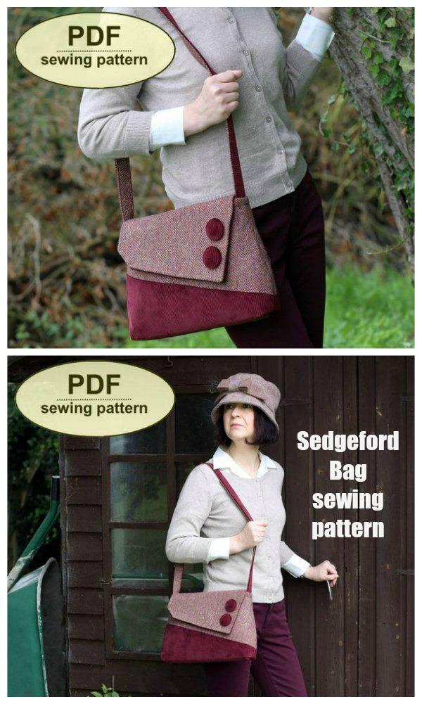 Sedgeford Bag sewing pattern