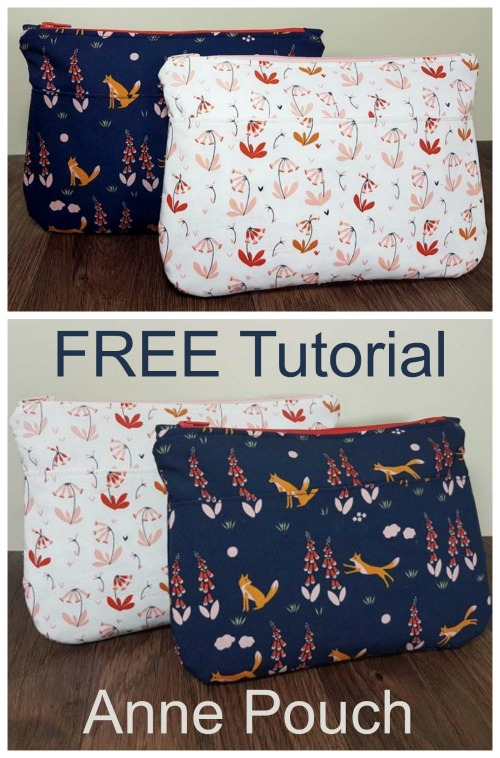 Anne Pouch FREE sewing tutorial