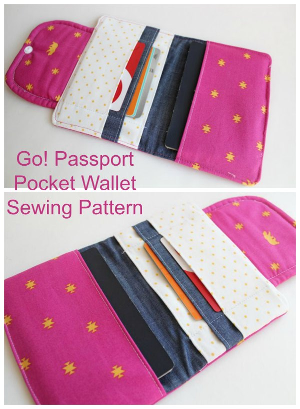 Go! Passport Wallet and Organizer sewing pattern