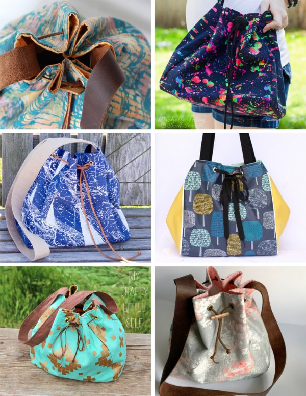 We think you will simply love how quickly and simply this pattern comes together and gives you a gorgeous fashionable bag to carry all season long. The Bucket bag is a gorgeous looking and professionally made bag without all the fussy details.