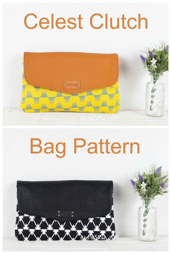This pattern is for the Celeste Clutch bag. It's a stylish project that comes in two different sizes and is perfect for the summer season. With its elegant, stylish and sophisticated look, you'll want to show off this bag as often as possible.