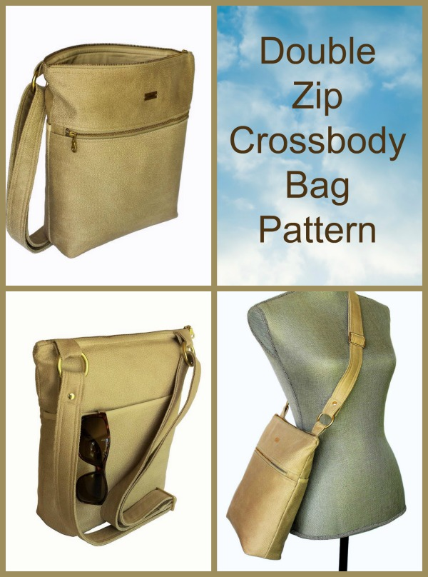 Why not download this awesome pattern and make yourself this super cool and trendy crossbody bag.