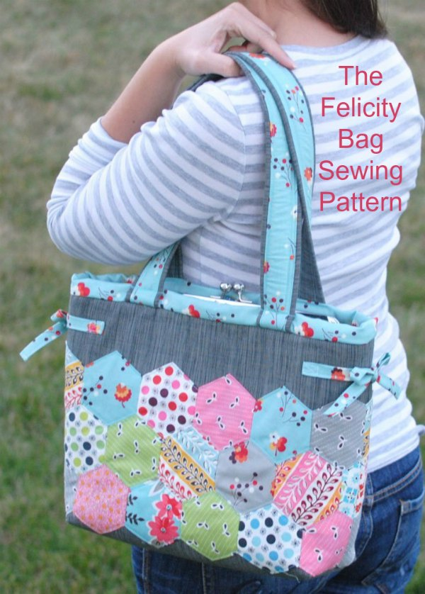 Sewing Pattern for the Felicity Bag.