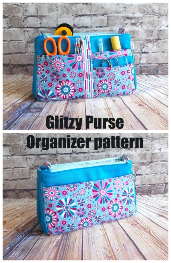 With this designer, you will always get a quality pattern with lots of choices at a reasonable price. The Glitzy Purse Organizer has been designed so that there is a place for everything