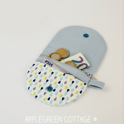 Half Moon Coin Purse sewing pattern