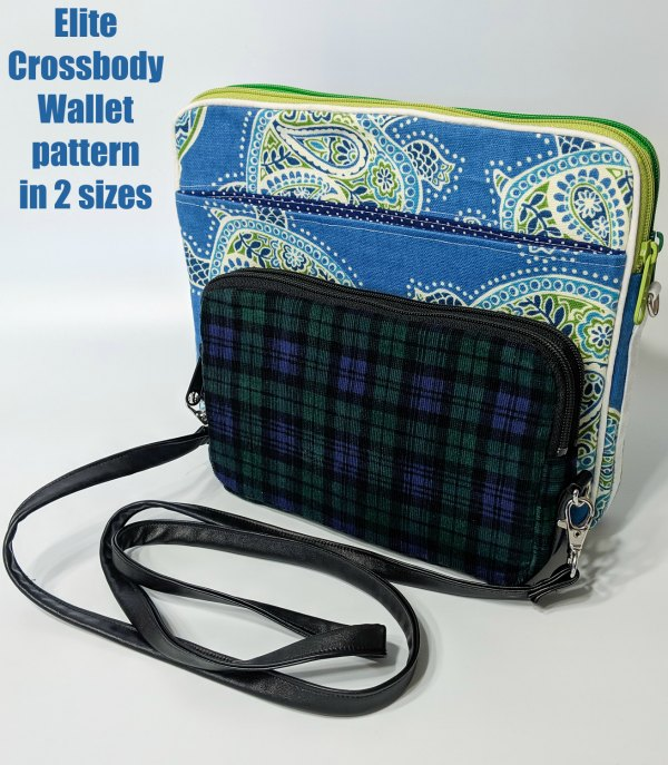 This is the Elite Crossbody Wallet pattern.