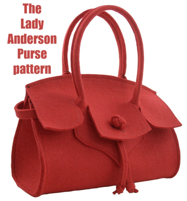 The Lady Anderson Purse has been inspired by the couture houses of times gone by. If you love to sew timeless classic vintage designs bags that will never go out of fashion then we have a fabulous one for you here.