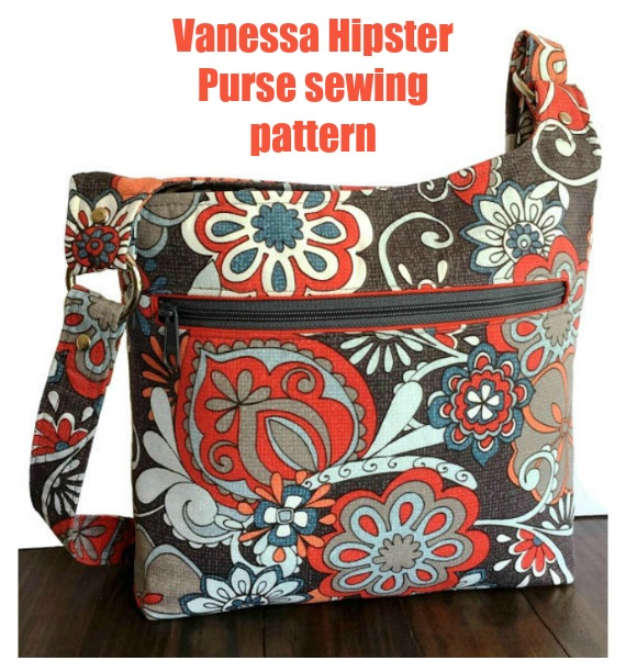 Vanessa Hipster Purse sewing pattern