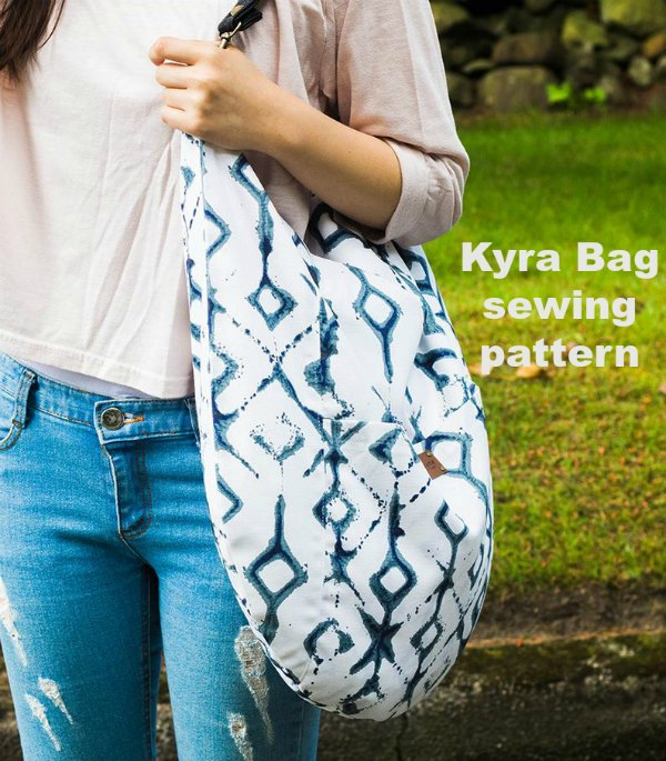 "If you would like to make yourself a hobo bag for all seasons then why not download this great hobo style bag named ""The Kyra Bag"". This elegant, stylish and contemporary bag today will make a perfect companion."