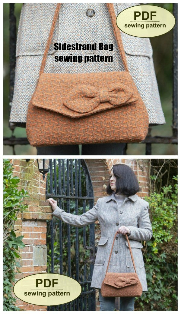 Sidestrand Bag sewing pattern