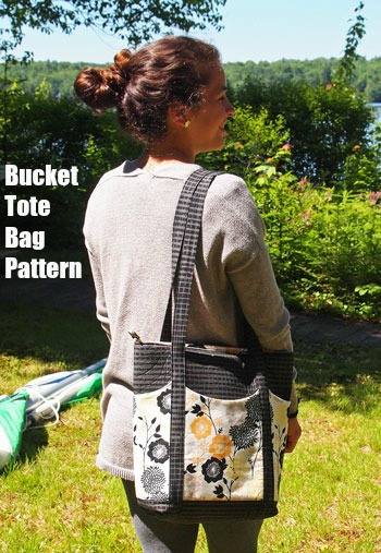 If you want to make yourself a lovely stylish tote that is just the perfect size then you can download the pattern for the Bucket Tote Bag.