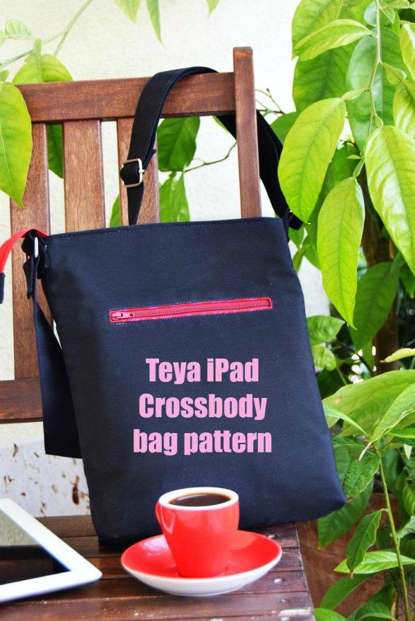 Teya Ipad Crossbody Bag Pattern