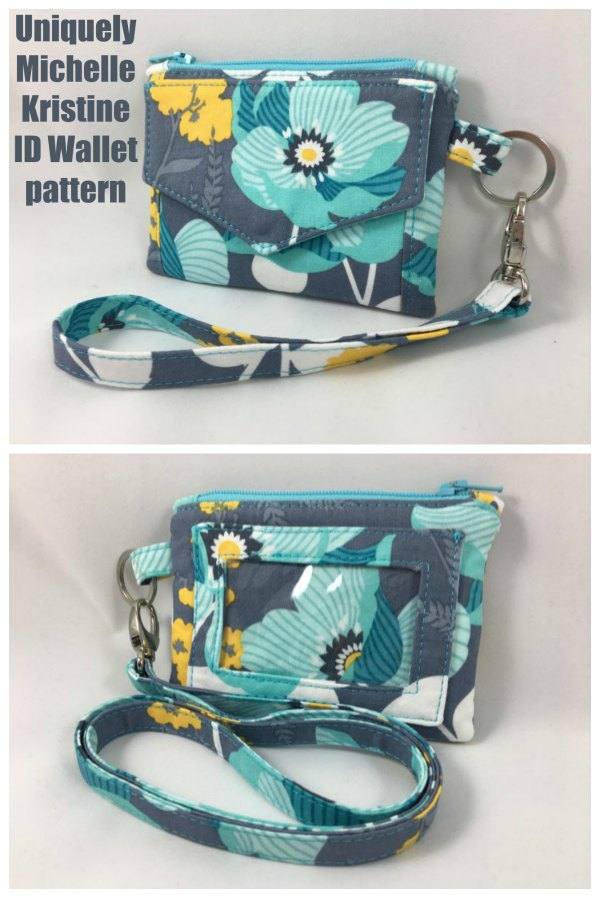 If you would like to make yourself a fantastic looking wallet then we have a great pattern here for you. It's the Kristine ID Wallet pattern by Uniquely Michell and it has been designed to carry all of your essentials.