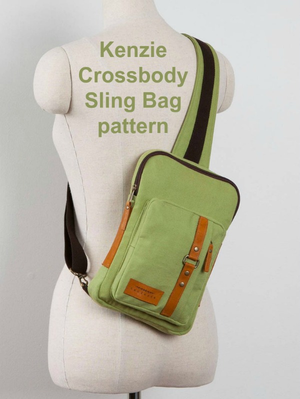 Kenzie Crossbody Sling Bag pattern, picture three.
