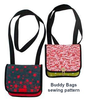 The creative designer of this bag pattern has named her bags The Buddy Bags because there is enough supplies to make yourself two bags, one for yourself and one for your buddy. These bags are small, really handy and also easy to put together. They are perfect for carrying just your essentials.