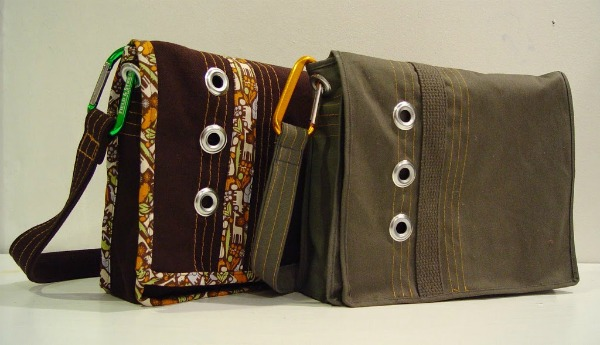 Connor's Messenger Bag free sewing pattern