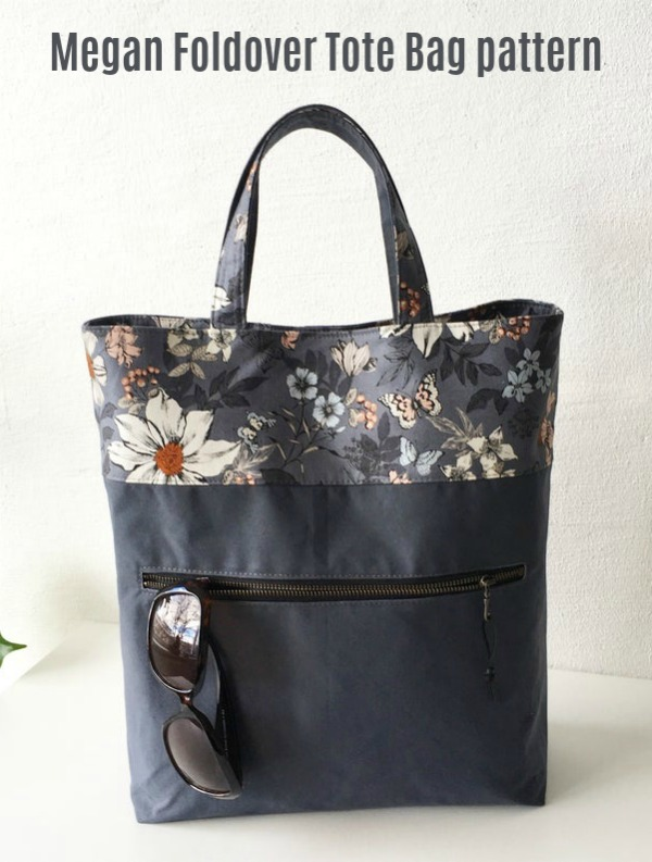 This great Tote Bag gives you the option to part fill it and wear it over your shoulder using the shoulder strap. Or you can fill it to the brim and use the good-sized handles, which you can also wear over your shoulder if the bag becomes heavy.