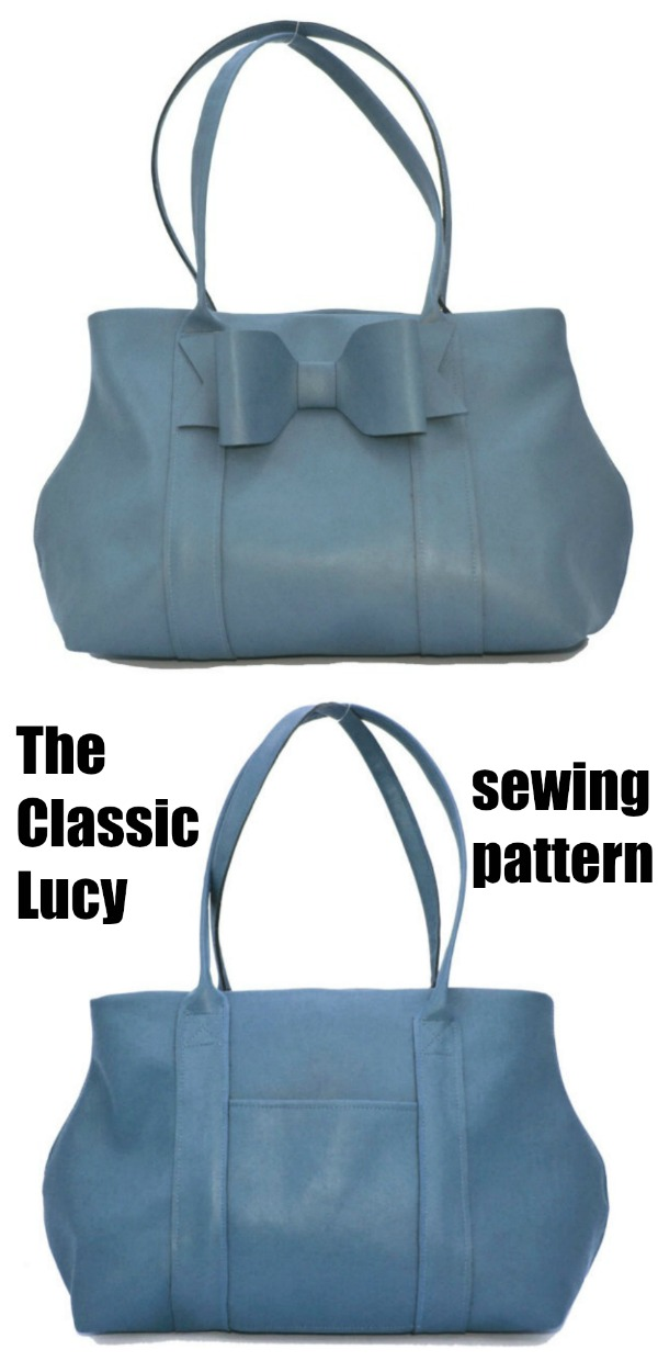 The Classic Lucy Purse sewing pattern
