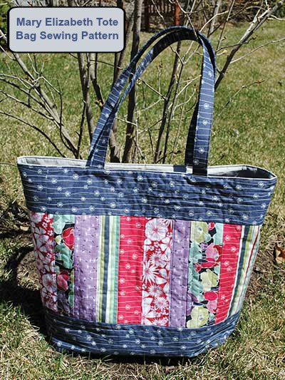 The Mary Elizabeth Tote Bag.
