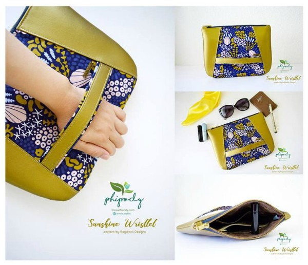 Sunshine Wristlet FREE Sewing Pattern