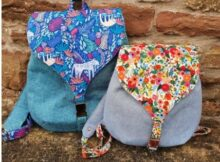 Sweet Lyra Backpack pattern in 2 sizes