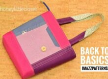 Back To Basics Tote Bag pattern