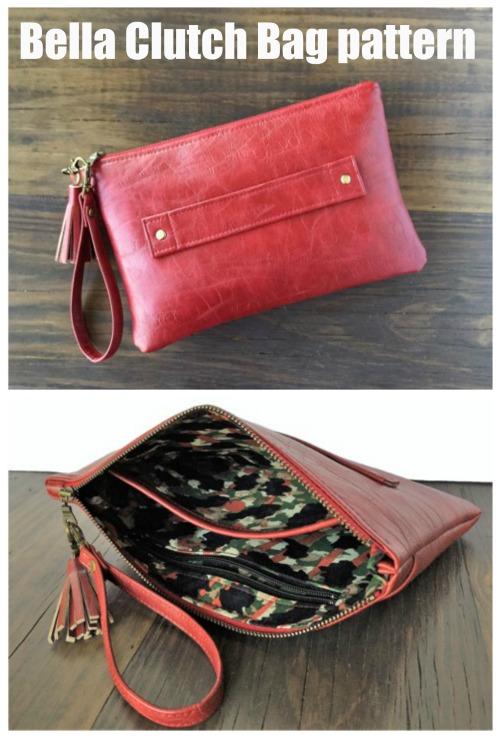 Bella Clutch Bag pattern
