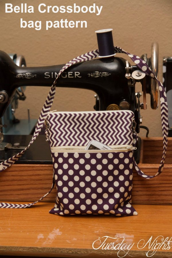 When the designer made her Bella Crossbody digital pattern she designed it as a simple and easy project to make, but some prior knowledge of sewing is assumed. The pattern features two sizes so you have to decide which size to make or make them both.