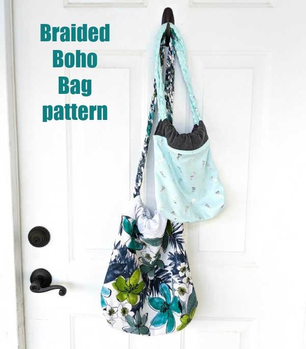 Braided Boho Bag pattern