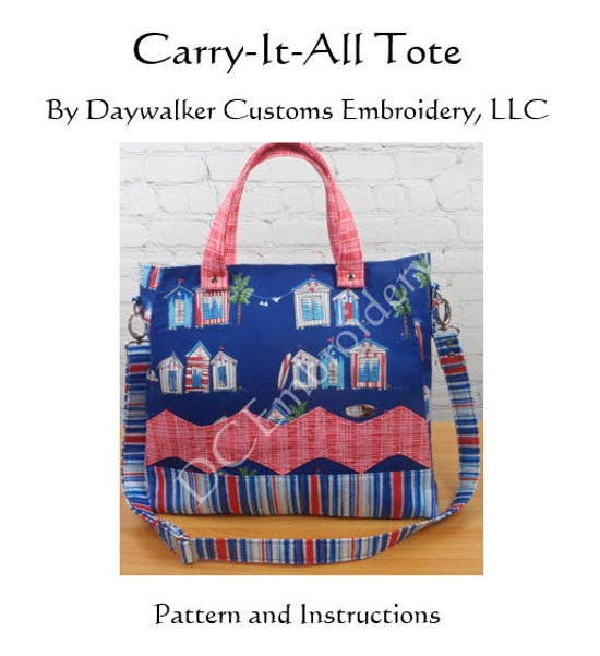 Carry It All Tote Bag pattern