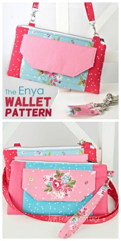 Enya Wallet sewing pattern
