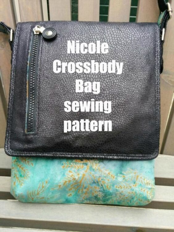 Nicole Crossbody Bag pattern
